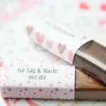 Druckvorlagen Fur Merci Schokolade Als Geschenk Zum Selbst Basteln