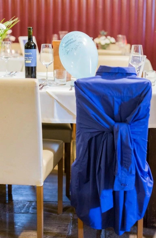 40. Geburtstag: Ideen für die Feier zum Männergeburtstag in Blau