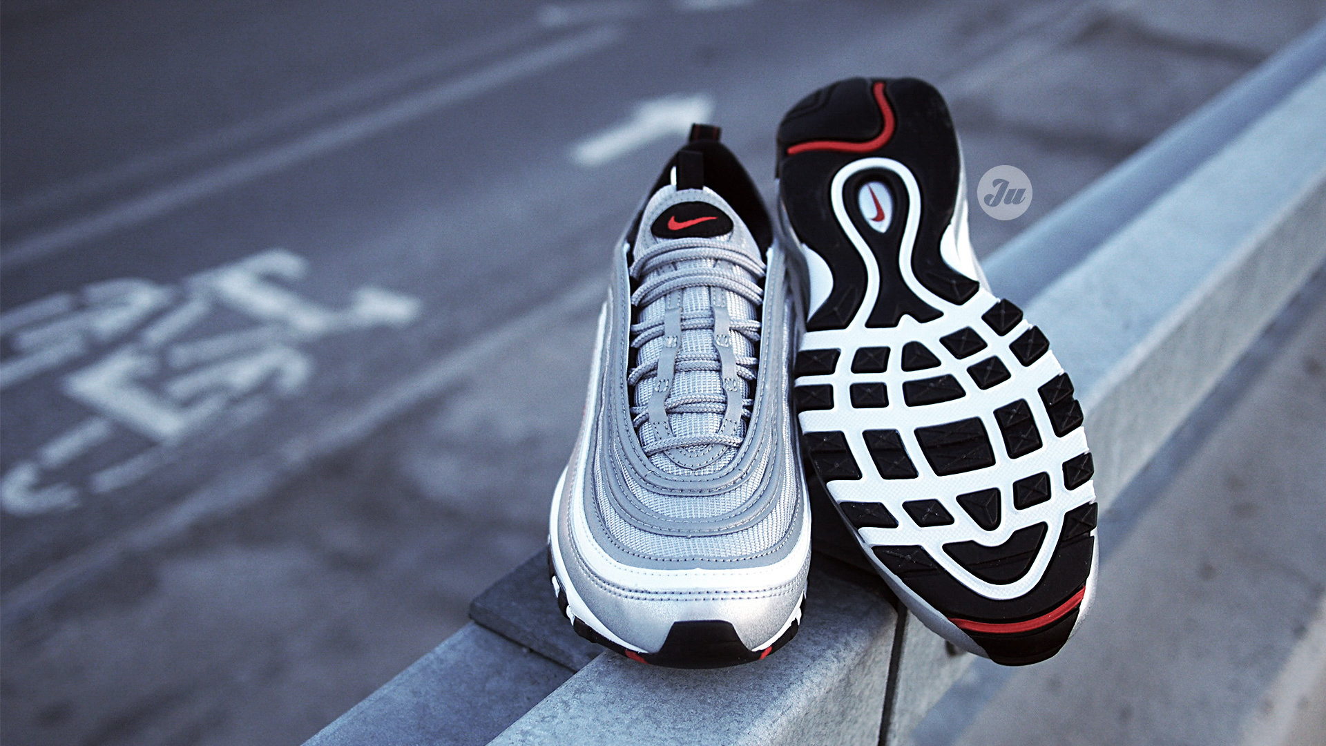 Swarovski Covered Cheap Nike Air Max 97 Silver Bullet Landing Next