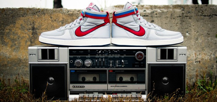 It doesn't get more 80's than the Nike Vandal High Supreme OG in Metallic Silver & Red [review & on-feet video]