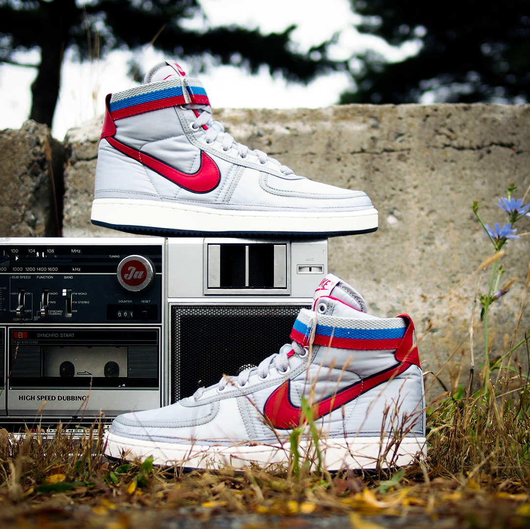 6efab87a57bb It doesn t get more 80 s than the Nike Vandal High Supreme OG in Metallic