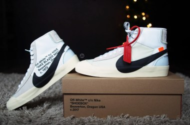 """REVIEW"" of The Ten Nike Blazer Mid ""OFF-WHITE"""