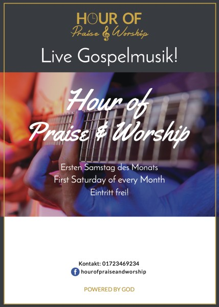 HourOfPraise Flyer