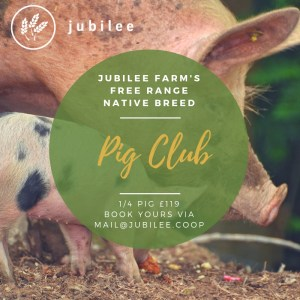 The Pig Club is part of what we do. Book your 1/4 pig today.