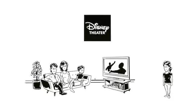 ディズニーデラックス テレビ