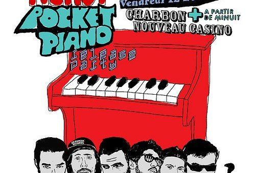 DJ Mehdi - Pocket Piano release party Café Charbon