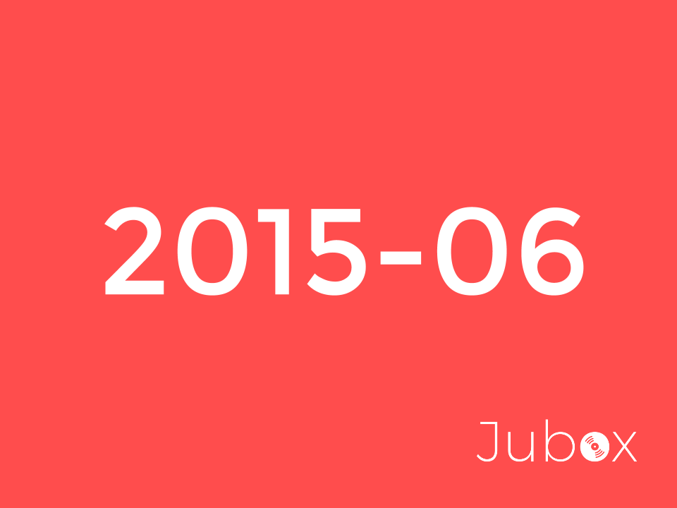 Juin 2015 playlist
