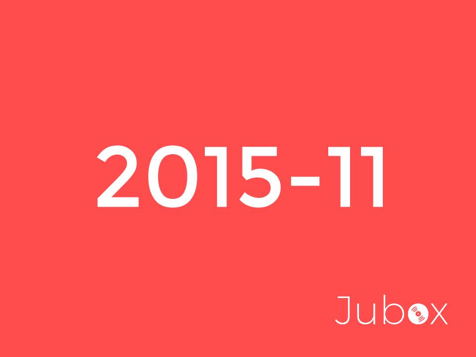 Novembre 2015 playlist