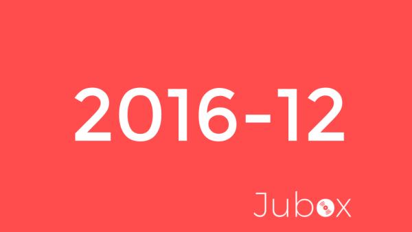 Décembre 2016 - Playlist