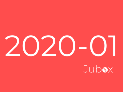 playlist janvier 2020 jubox