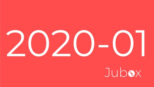 playlist janvier 2020 jubox