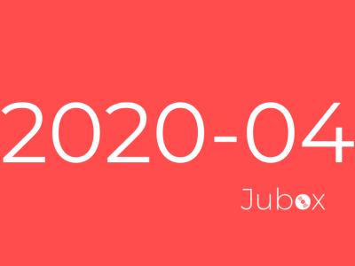 Playlist Jubox Avril 2020