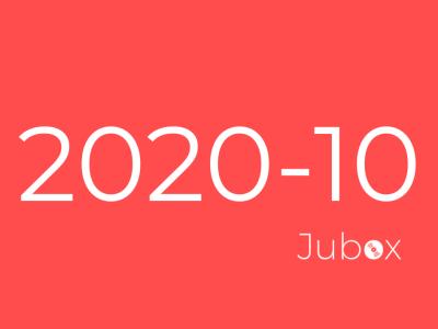Playlist Jubox Octobre 2020
