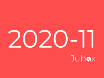 Playlist Jubox Novembre 2020