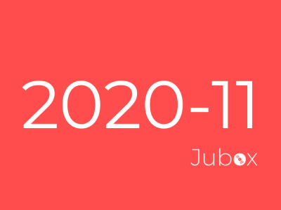 Playlist Jubox Novembre 2020