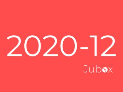 Playlist Jubox Décembre 2020
