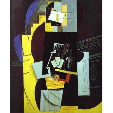 The Card Player By Pablo Picasso Oil Painting Art Gallery