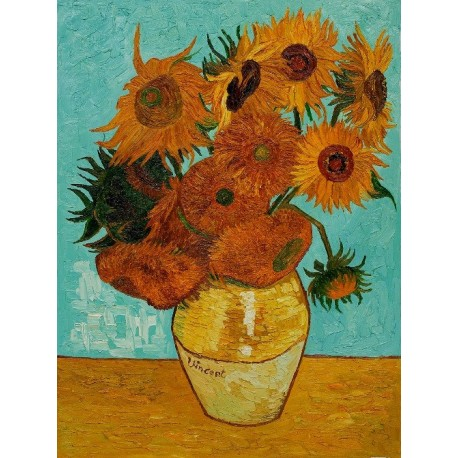 Image result for vincent van gogh sunflowers