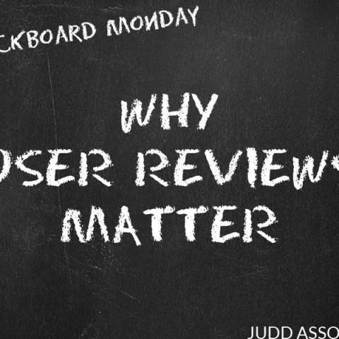 why user reviews matter