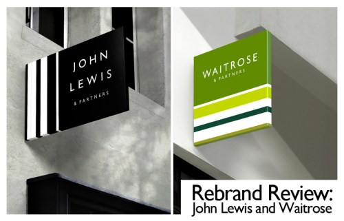 John Lewis and Waitrose Rebrand Review Header