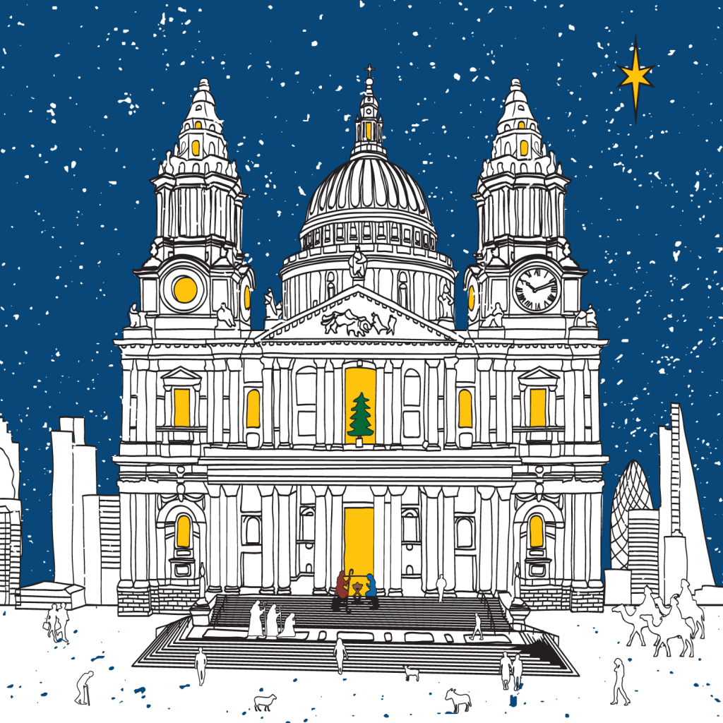 St Paul's Cathedral Christmas Card