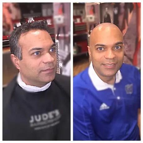 Mens-Haircut-Bald-Judes-Barber-Shop-East-Beltline