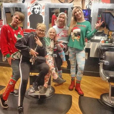Judes-Barbershop-Traverse-City-Team-Halloween