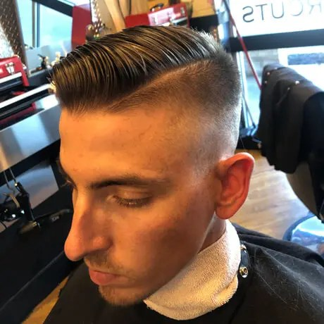 Mens-Haircut-Hard-Part-Judes-Barbershop-Jenison