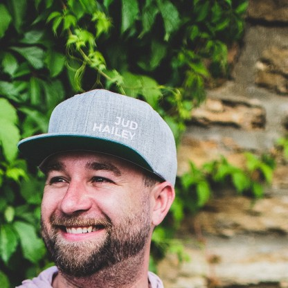 Heather Grey Hat By Jud Hailey