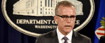 Judicial Watch Files Three Lawsuits for Info on FBI Acting Director Andrew McCabe - Judicial Watch