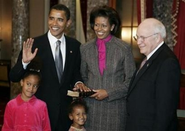 Dick cheney barack obama distant cousins agree, the