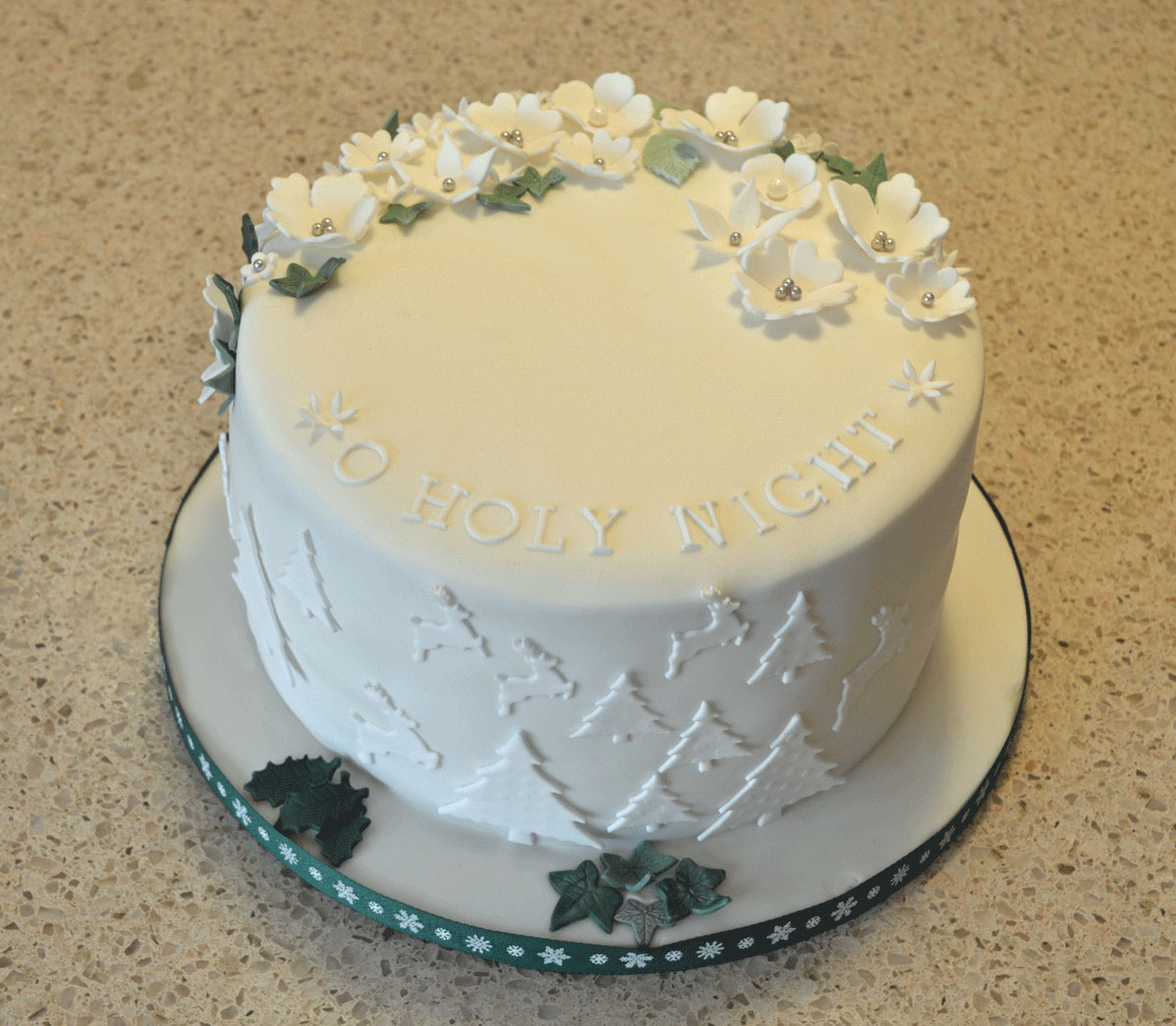 CAKE LIFE | O HOLY NIGHT, THE STARS ARE BRIGHTLY SHINING - Judith ...