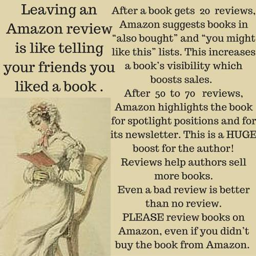 About the in=mportance of reviews for authors.