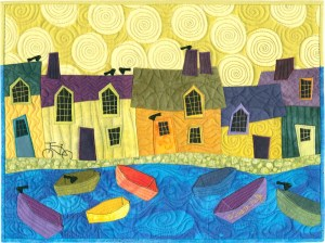 Judith Reilly's Little Boats II