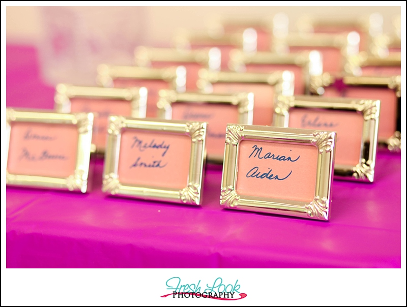 Name Card Frames