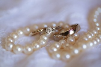 rings and pearls