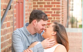 historic williamsburg engagement session