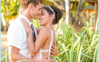 tropical elopement in Costa Rica