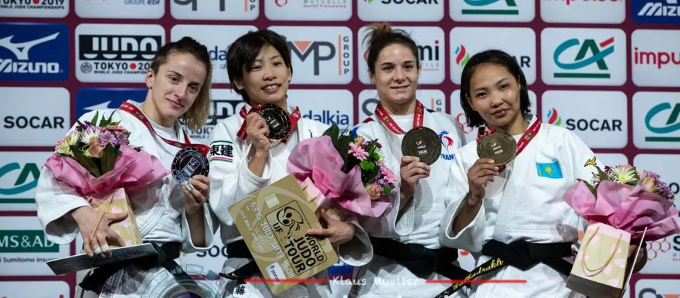 Mélodie VAUGARNY médaillée de bronze au Paris Grand Slam