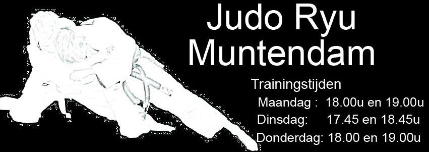 JUDO RYU MUNTENDAM