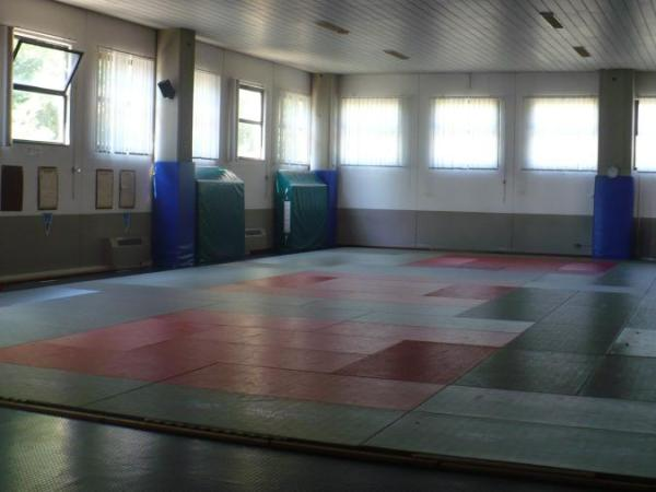 il dojo della Judo Sakura Chiusi ASD