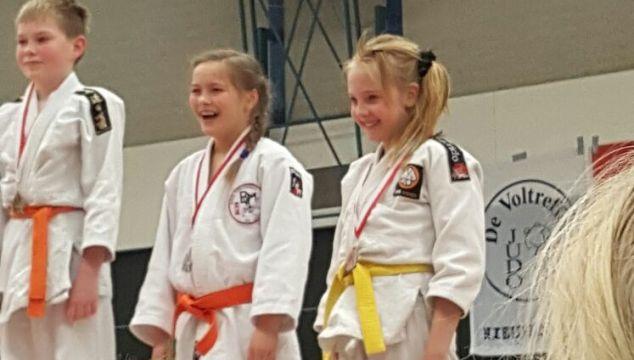 Brons voor Sam Pijper en Yinthe Plum op Utrechts judotoernooi