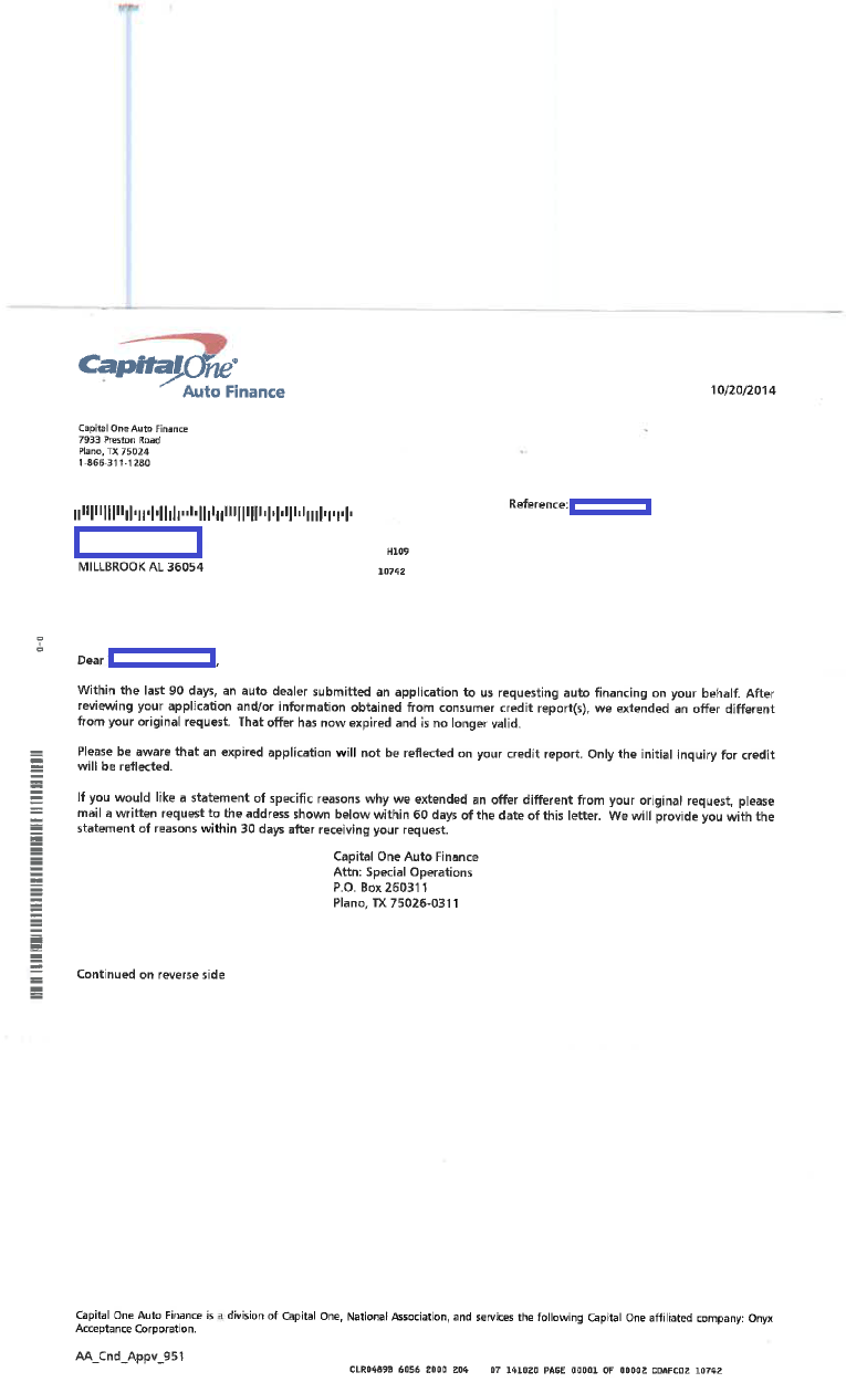 Sample mortgage loan denial letter keith leggett s for Loan denial letter template
