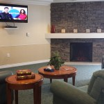 Main lobby at Judson Meadows assisted living
