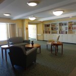 2nd floor reading and activity room at Judson Meadows Assisted Living