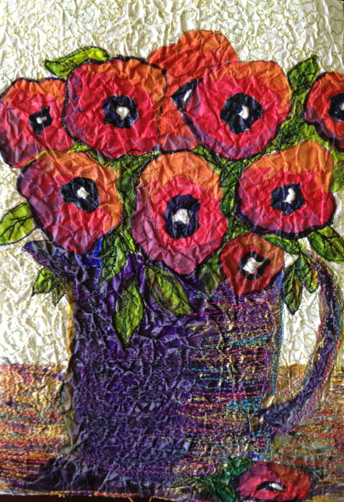 Jug of Poppies
