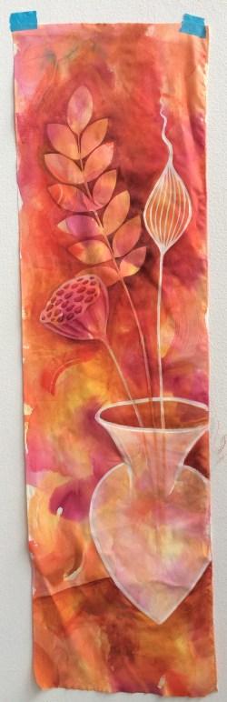 red-vase