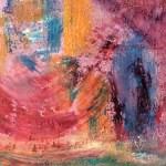 'Medium play' oil paint on paper