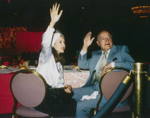 Judy Hevenly and Bob Hope