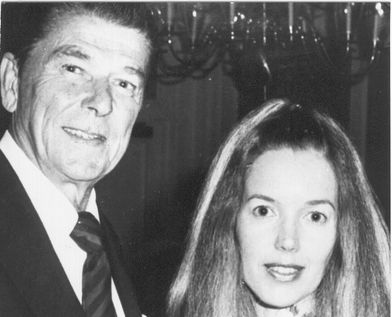 Ronald Reagan and Judy Hevenly